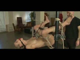 Blonde in ropes 2