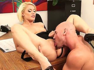 Johnny Sins enjoys fucking with young student Ash Hollywood in amazing hardcore
