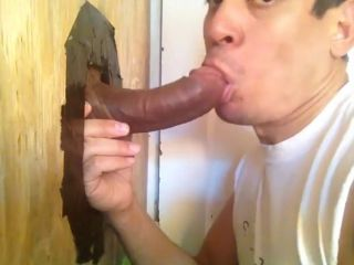 Blowing a Str8 Latin Dick!