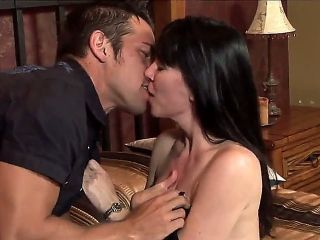RayVeness is fond of seducing young fellows and taste their hard pecker. Her todays victim is Johnny, who knows her son. She definitely enjoys his big