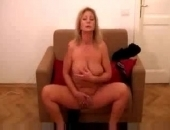 Old Lady Amateur Strips