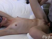 Amateur penetrated in both holes