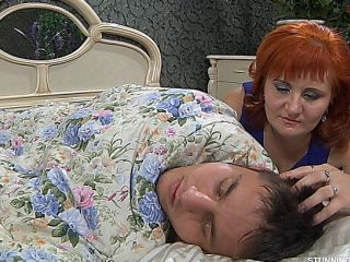 mother can\'t ignore her stepson sleepin