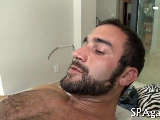 Wild massage for gay bear