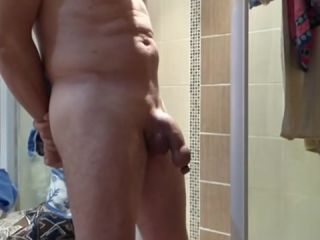Small inflation foreskin to urine in shower