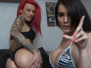2 UK Glamour Girls Play and Taunt