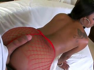 Vanessa Monet is voluptuous chocolate skinned lady with amazingly hot forms that can seduce everyone and lucky Voodoo is not the exception. Need to sa