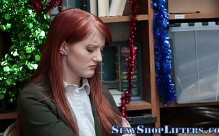 Shoplifting amateur spunk