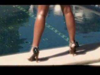 Erica campbell poolside