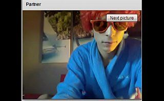 Hetero guy show your feet in chatroulette 2