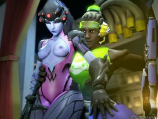 One of the best Widowmaker porn compila