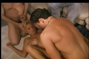 A Rough Anal Threesome Sex For Swinger MILF