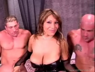 Ava Devine Double Dipped