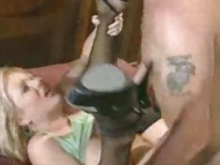Rene LaRue gets her cunt fucked hard on the bed