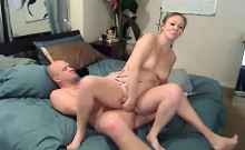 Mature loves handjob and blowjob