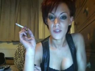 Smoking. Downloaded from 720cams.com