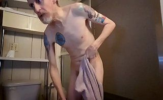 Me taking a shower naked video 5