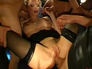 German Cookie Bukkake & Anal Group-Sex