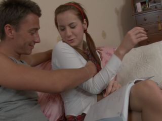Madison in one of the young cock suckers gives bj action
