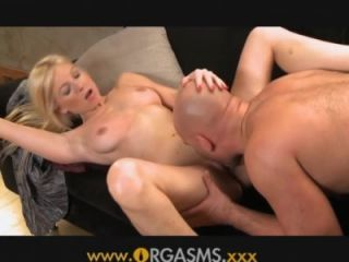 Orgasms - Blonde grips the hammer