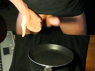 Seasoning the pan