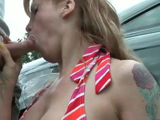 Nina receives a massive load
