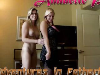 Mom And Daughter Ride Daddy\'s dick