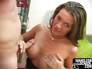 Gives With Pierced Nipples Handles Cock