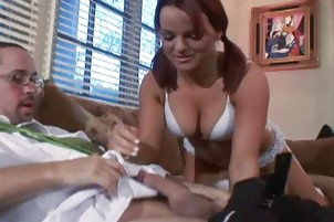 Lucky Dad Bangs The Babysitter Xxx