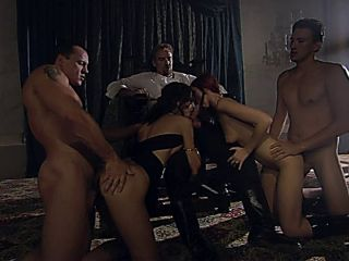 Ritual Gangbang With A Bunch Of Vamps