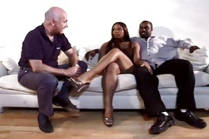 Mrs L Smith Lets Black Guy Fuck Her While Husband Watches