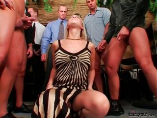 Blonde Pissed On