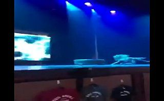 strip show on stage streamed on periscope