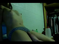 Sex with asian amateur in the dorm