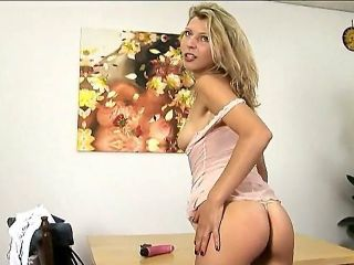 Blonde lady Krisei Luse is hot and horny babe and she loves to pose in front of the camera. He loves to exciting men with her flawless ass and elegant