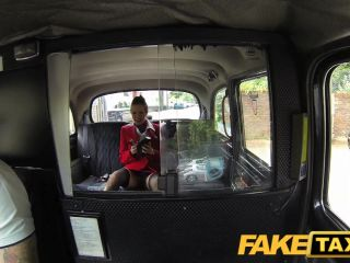 FakeTaxi: Nymphomaniac flight attendant can\'t receive sufficiently dick
