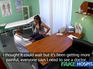 Bawdy mother i\'d like to fuck sex junkie receives screwed by the doctor during the time that her spouse waits