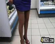 Sexy Outfit At The Store