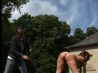punished outdoors