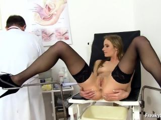 Doctor Takes Care Of Her Pussy