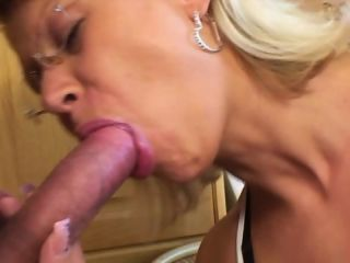 Hot Blonde Mom Grants Stepsons Wish For Sex