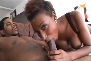 Shi And Kaleah Get Their Black Pussies Stuffed With Dick