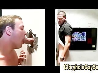 Dum young man tricked at gloryhole