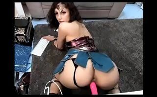 Big ass wonder woman rides big dildo live cam xxx - camtocambabe.com