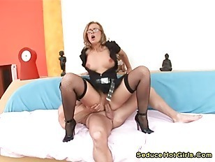 Hot Blonde Nailed By Big Cock