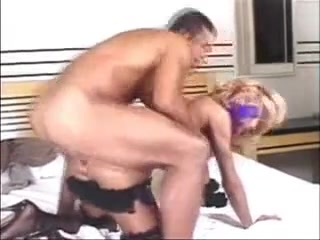 Blond Sheboy and Fella