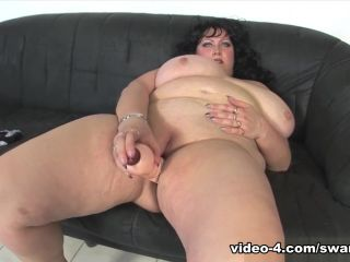 Andrea is on her Knees Sucking Cock! - SwankPass